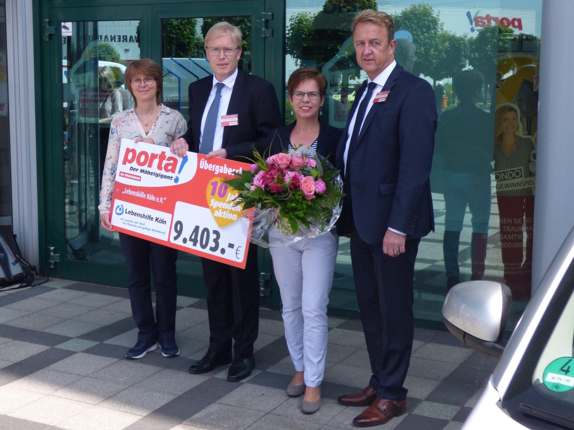 Danke Porta Lebenshilfe Köln Ev